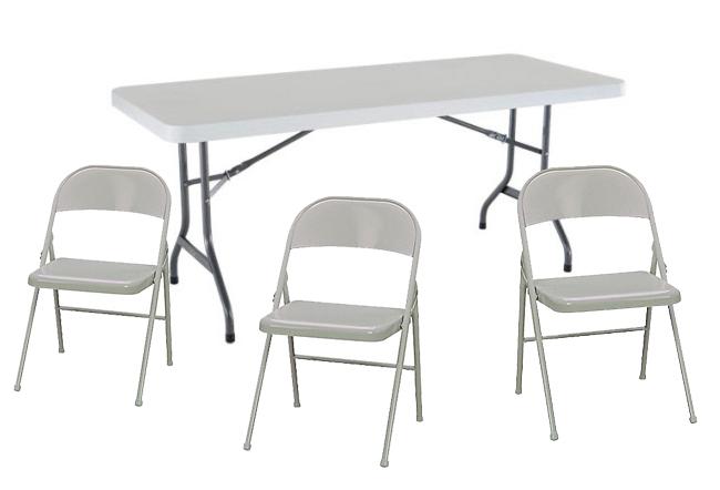 Tenemos mesas rígidas rectangulares para 6 y 8 personas disponibles para su evento, nuestras mesas son de plástico reforzado, color blancas. Se las entregamos completamente limpias a su domicilio.